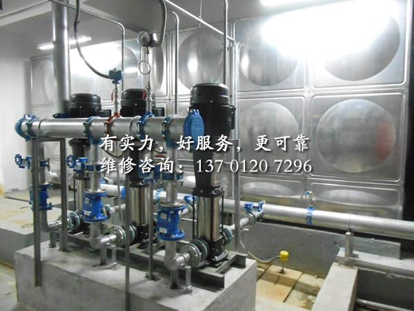 泵房安装改造