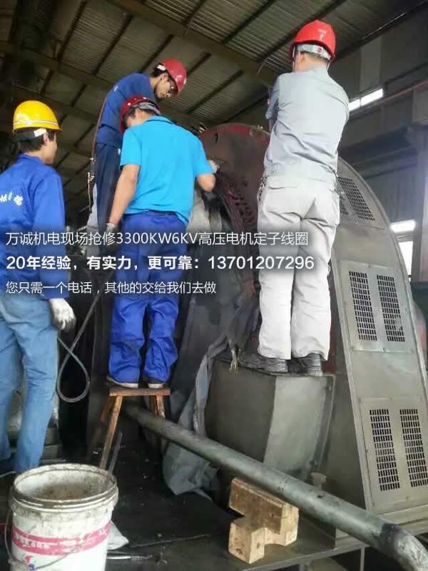 3300KW6KV高压电机维
