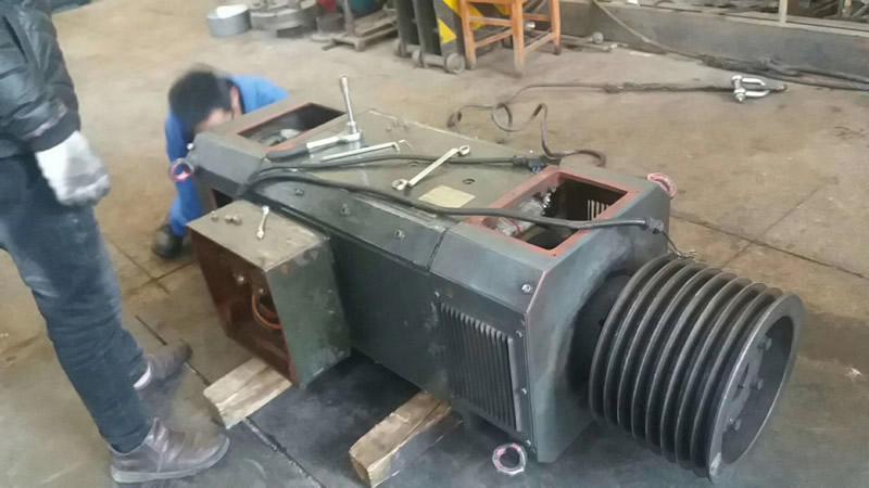 250KW西门子直流电机大厂大修